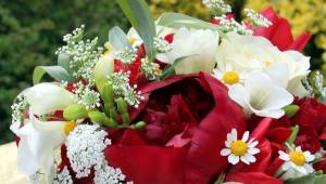 Close up bouquet