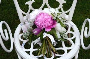 Peony Bouquet, peonies locally grown by Moorfield Flowers and arranged by Ditsy Floral Design