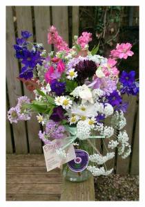 Wildflower Posy Jar