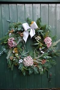 Luxury Christmas Wreath with Hydrangea