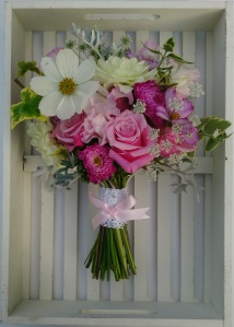 Pretty in Pink posy style #bouquet #ditsyfloraldesign