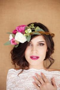 Floral Crown by Chic Vintage Brides