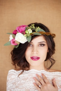 Floral Crown by Chic Vintage Brides